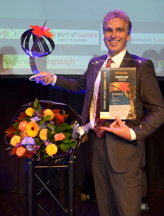 Winner of Export Award 2015 - Trioliet
