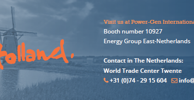 Energy Group East – Netherlands debuts at Power-Gen 2017