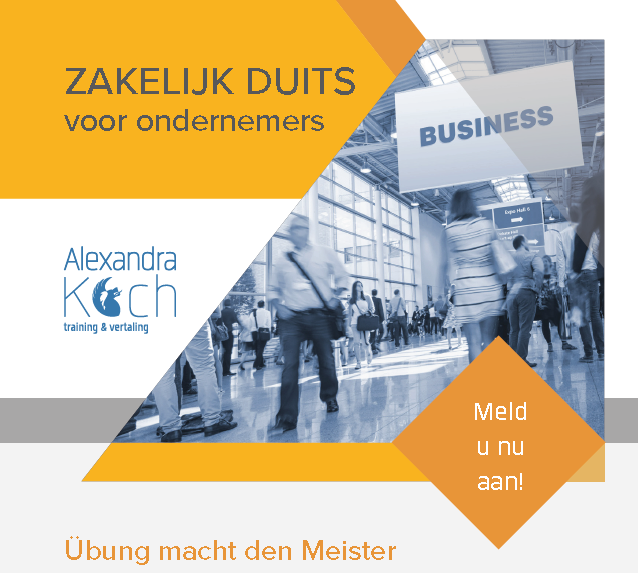 8-15-16 November 2018 Business German for Entrepreneurs