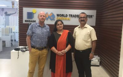 Opportunities created by WTC Chennai for WTC Twente clubmember We4Ce